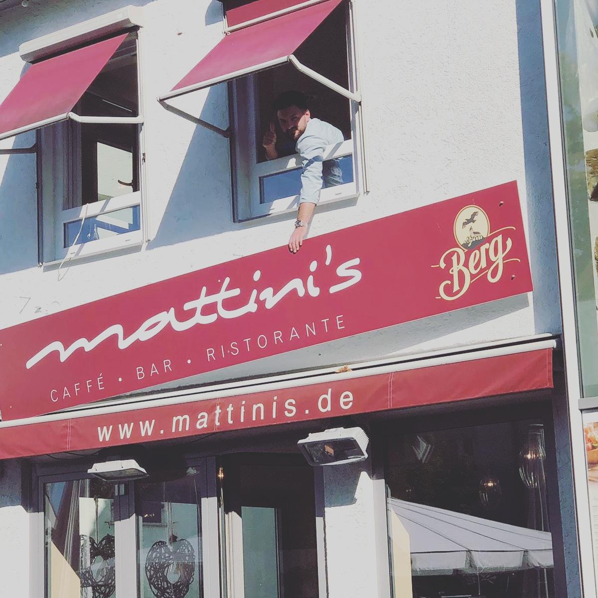 Mattini's in Metzingen - Wir sind wieder für Sie da!