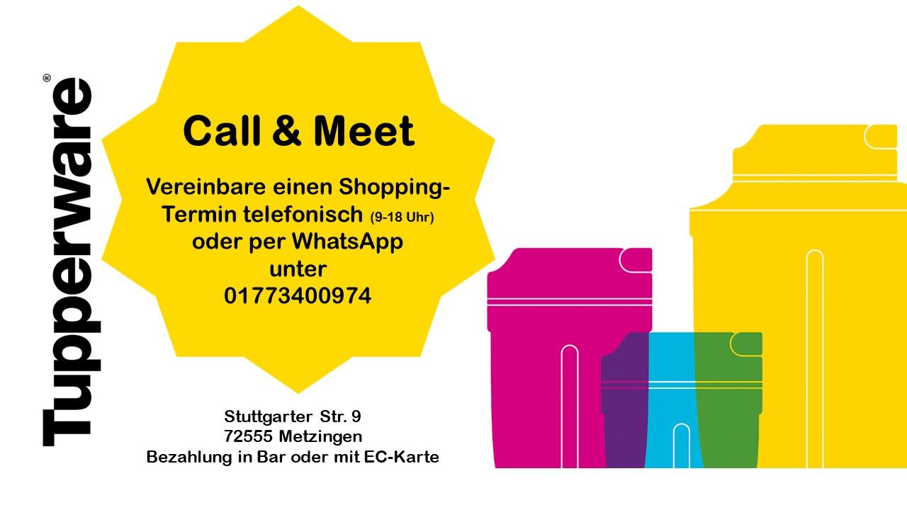 Call & Meet bei Tupperware in Metzingen!