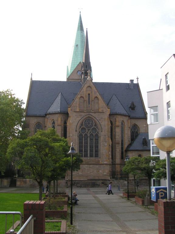 ST.Gertrud Kirche.