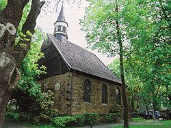 Alte Kirche am Gertrudis-Markt.