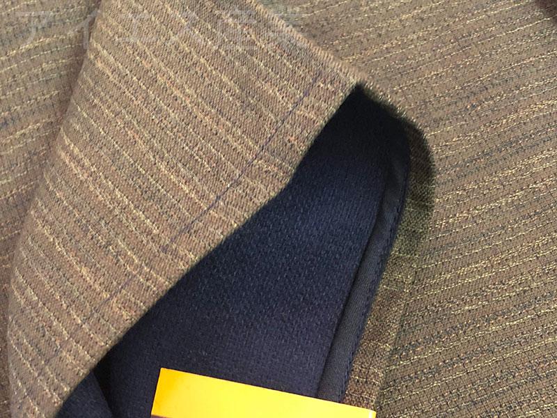 日本製 二重ウール織り 丹前
