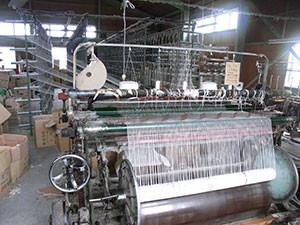 帆布工場 経糸