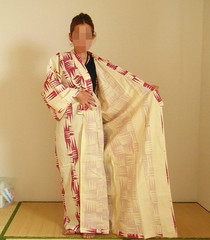 腰紐を使わない旅館浴衣の着方3