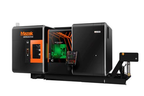 El INTEGREX i-400AM combina arranque y Fabricación Aditiva.