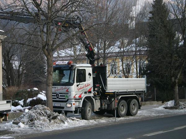 Fuhrpark - Baumeister Gerhard Bucher GmbH