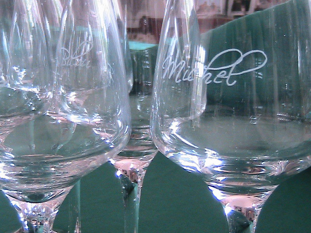 verres à vin personnalisés