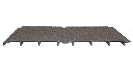 FRP Pultruido, Antiderrapante para Plataforma de Ventilador de 24 Pulgadas