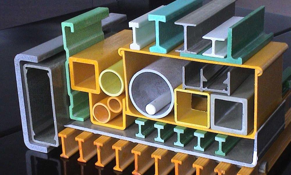 Viga H plástico reforzado fibra de vidrio FRP Características y Usos