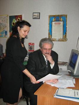 2013 р. Людмила Брега, Євген Шульга