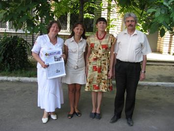 2009 р. Зоя Марчишина, Надія Антоненко, Надія Тубальцева, Євген Шульга