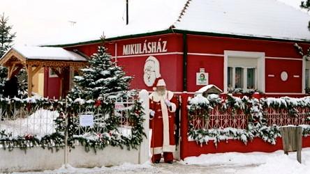 MIKULÁSHÁZ (Дом Микулаша) в деревне Nagykarácsony