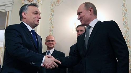 Премьер-министр Венгрии Виктор Орбан и президент России Владимир Путин. Сотрудничество это всегда шаг вперед!