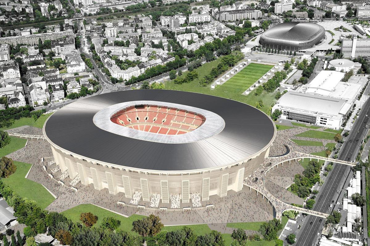 Арена нового стадиона будет вмещать 65 тысяч зрителей