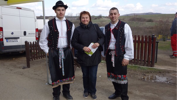 Фото на память с полоцкими парнями