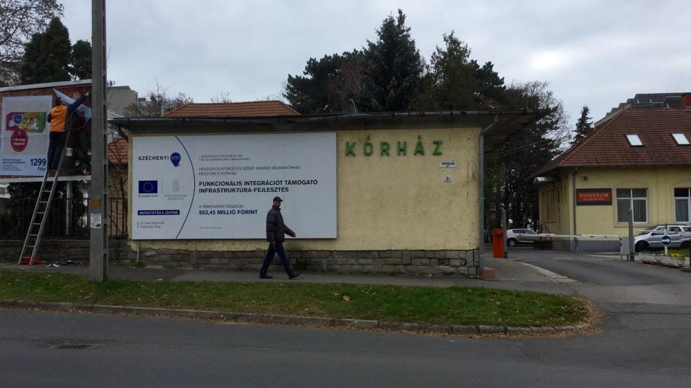 Больница (на венг. kórház)
