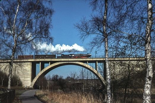 Kennelbrücke 1974  I  Copyright: Eisenbahn Archiv Braunschweig