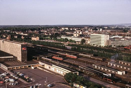Braunschweig Hbf 1975  I  Copyright: Eisenbahn Archiv Braunschweig