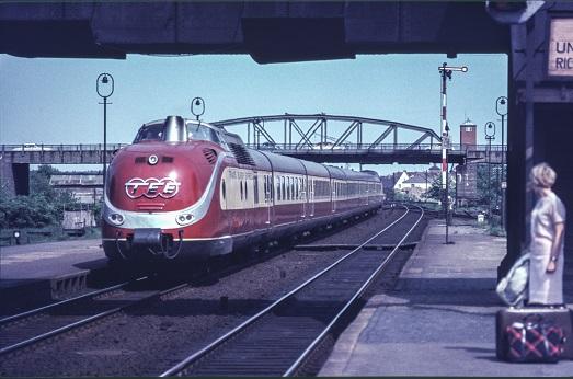 TEE 1966  I  Copyright by Stiftung Eisenbahn Archiv Braunschweig