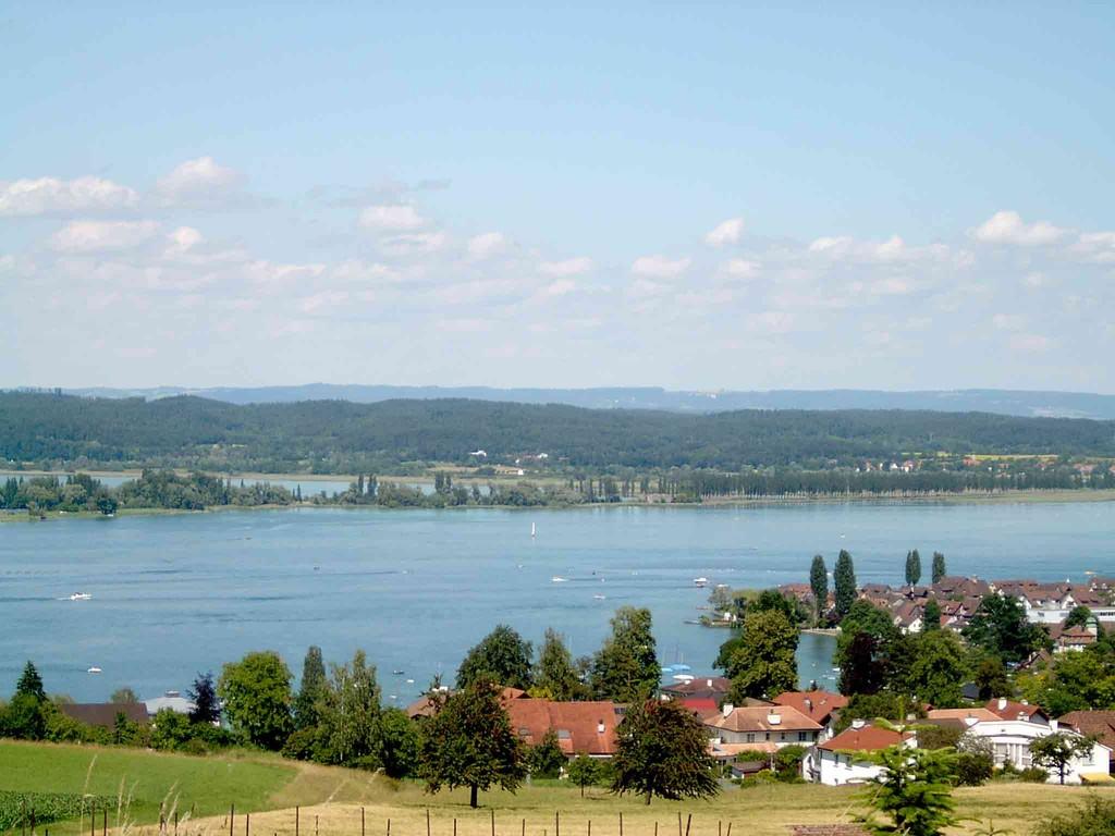 den Blick auf die Insel Reichenau