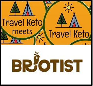 Travel Keto meets Brotist Smart Food Bakery