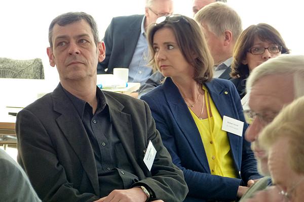 Matthias Möhle, erwachsenenbildungspolitischer Sprecher der SPD, kennt den Lernort Heimvolkshochschule auch aus eigenem Erleben als Seminarteilnehmer.