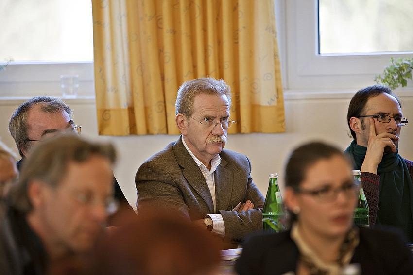 Blick weit nach vorn: Gerd Schumacher, Leiter der HVHS Springe.