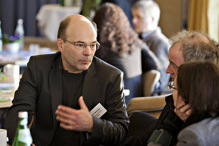 Wichtige Schlüsselkompetenzen: Martin Westphal, Leiter des Bildungshauses Zeppelin, berichtet, wie seine HVHS mit der Ostfalia Hochschule Braunschweig/Wolfenbüttel ins Gespräch kam.