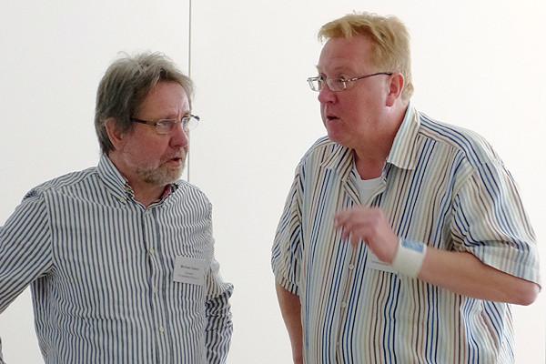 Bekamen die Infos zur Studie aus erster Hand: Michael Osann (links) und Dietmar Ruselack, beide im Vorstand des Sonnenberg-Kreises e.V., HVHS in St. Andreasberg.