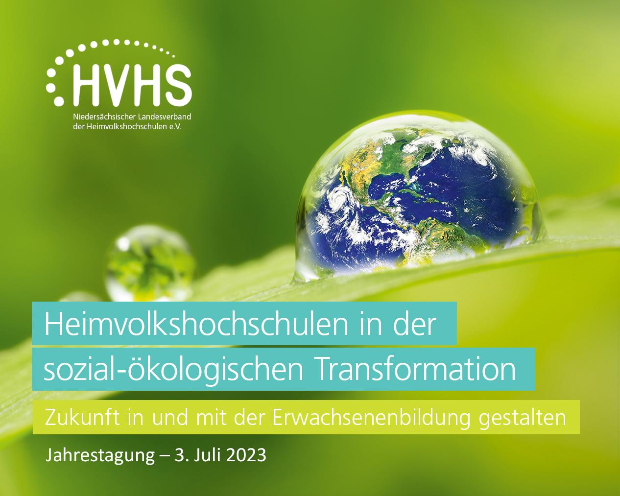 HVHS Bildungsurlaub 2020 Niedersachsen