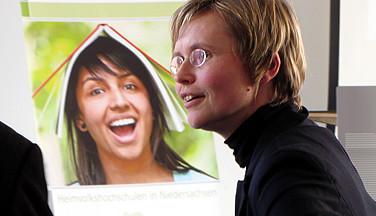 Dr. Steffi Robak, Professorin für Berufspädagogik und Erwachsenenbildung in Hannover.