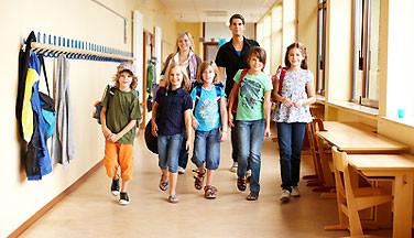 In der HVHS: Fortbildungen für Lehrer. © panthermedia.net / Christian Schwier