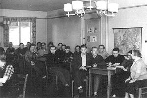 Seminar vor 60 Jahren in der HVHS Springe