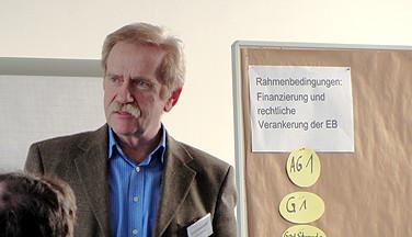 Gerd Schumacher, stellvertretender Vorsitzender des Landesverbandes, leitete eine der AGs.