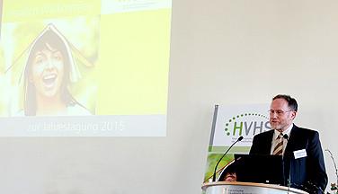Wolfgang Borchardt, Vorsitzender des Landesverbandes der HVHS.