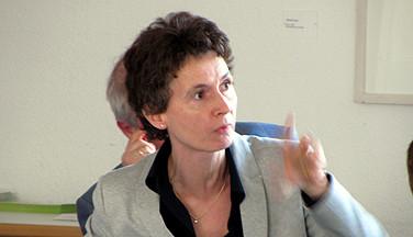 Auch Ina Bielenberg vom AdB war in Springe dabei und meldete sich zu Wort.