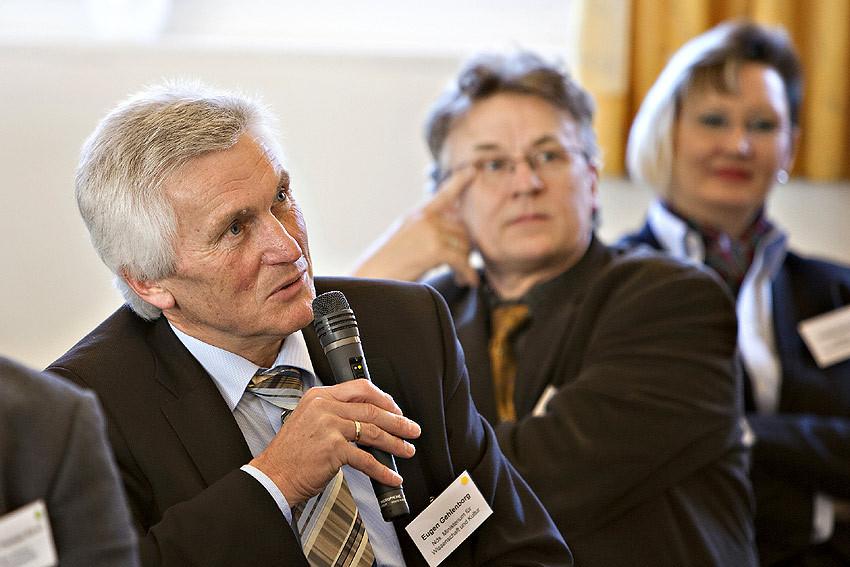'Bei dem Thema Offene Hochschule geht es darum, einen langen Atem zu beweisen', weiß Eugen Gehlenborg. Er ist im Ministerium für Wissenschaft und Kultur für die Erwachsenenbildung zuständig.