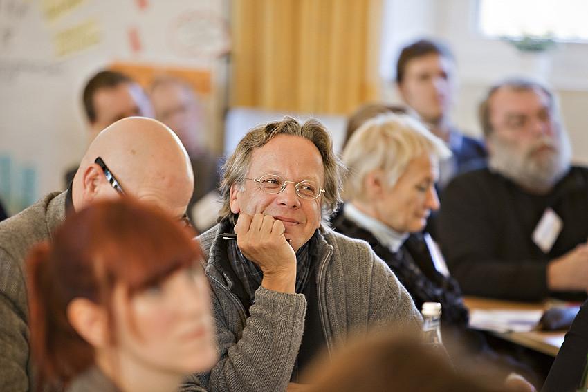 Durchaus zufrieden: Ulli Klaum, Leiter der Akademie Waldschlösschen.