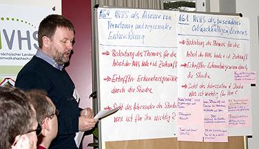 Willi Rolfes, Katholische Akademie Stapelfeld, bei der Jahrestagung der niedersächsichen Heimvolkshochschulen