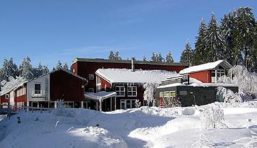 Im Oberharz gelegen - das bedeutet viel Schnee im Winter.