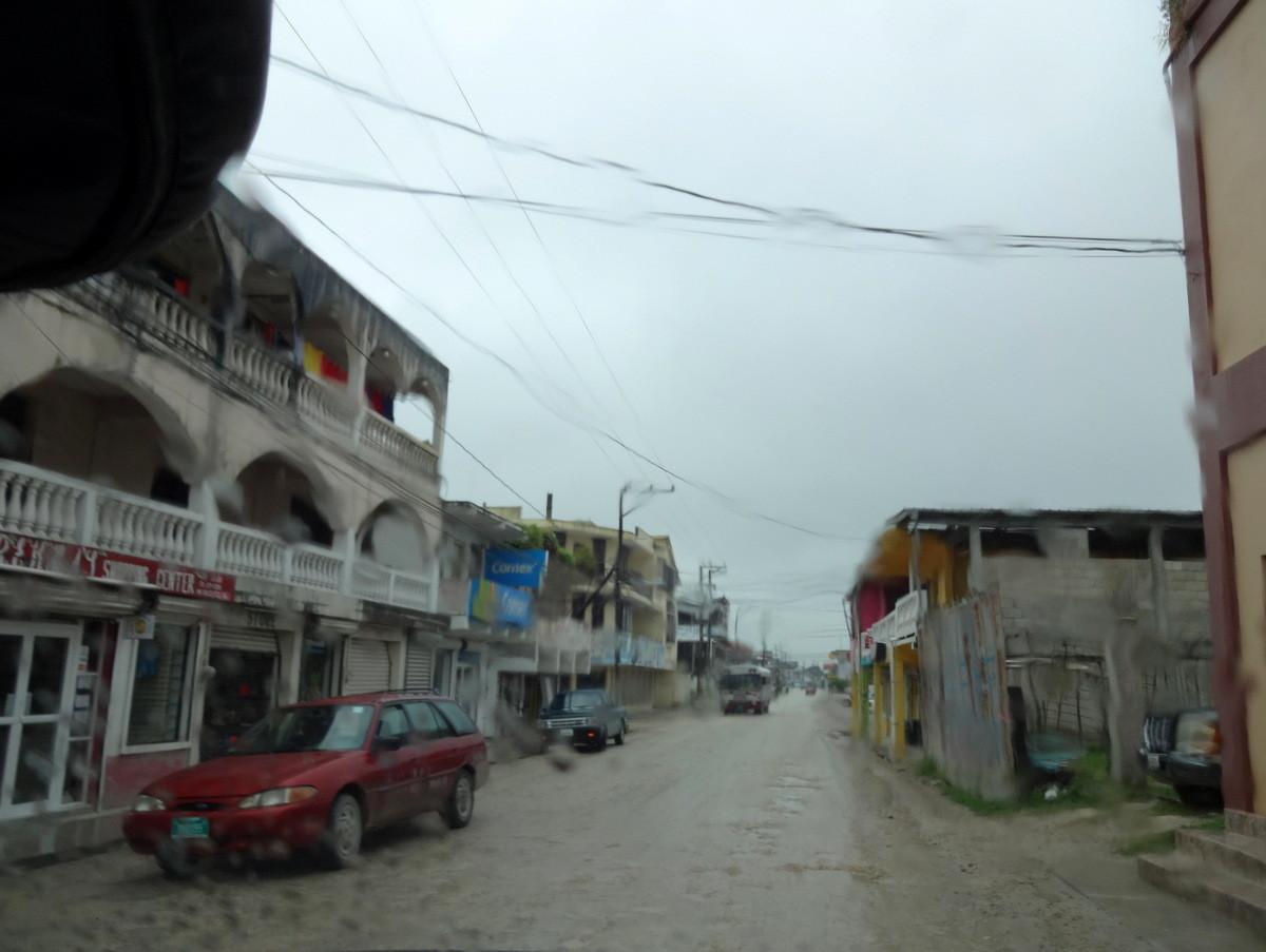...in der Mitte von Belize