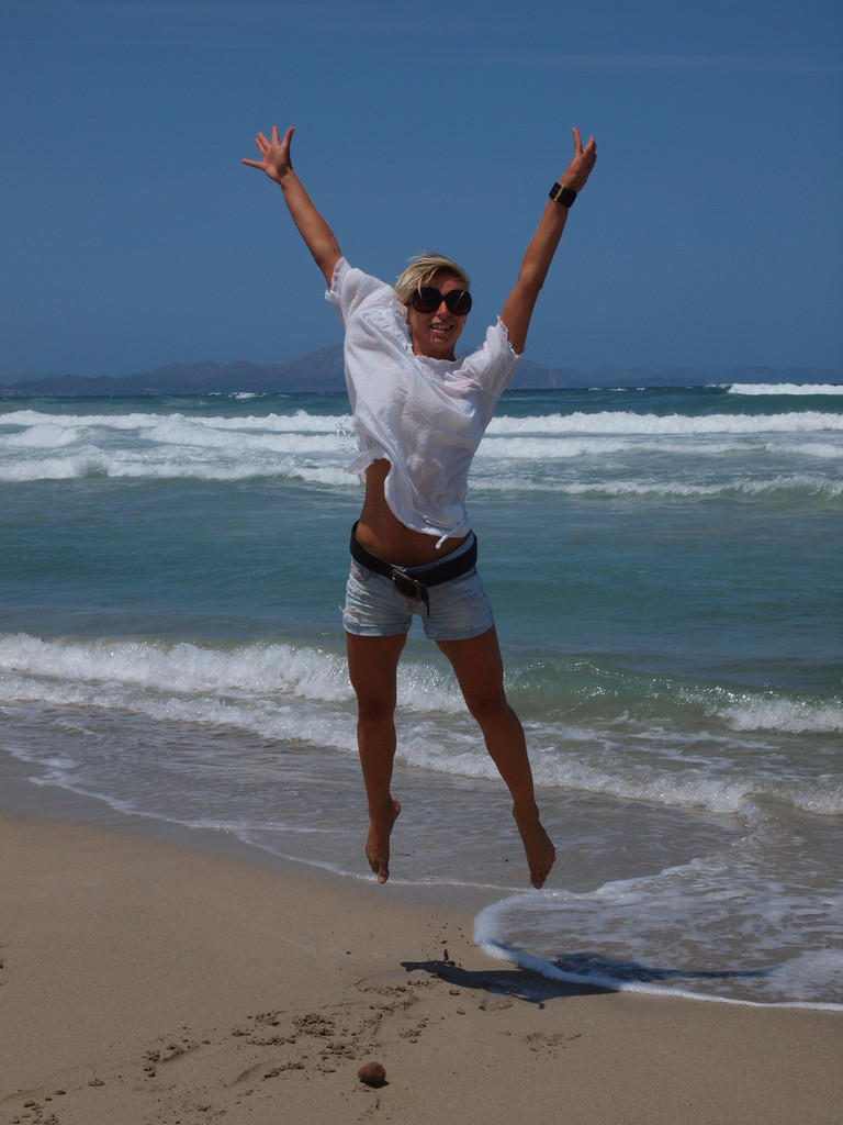 Ein Jump in Mallorca