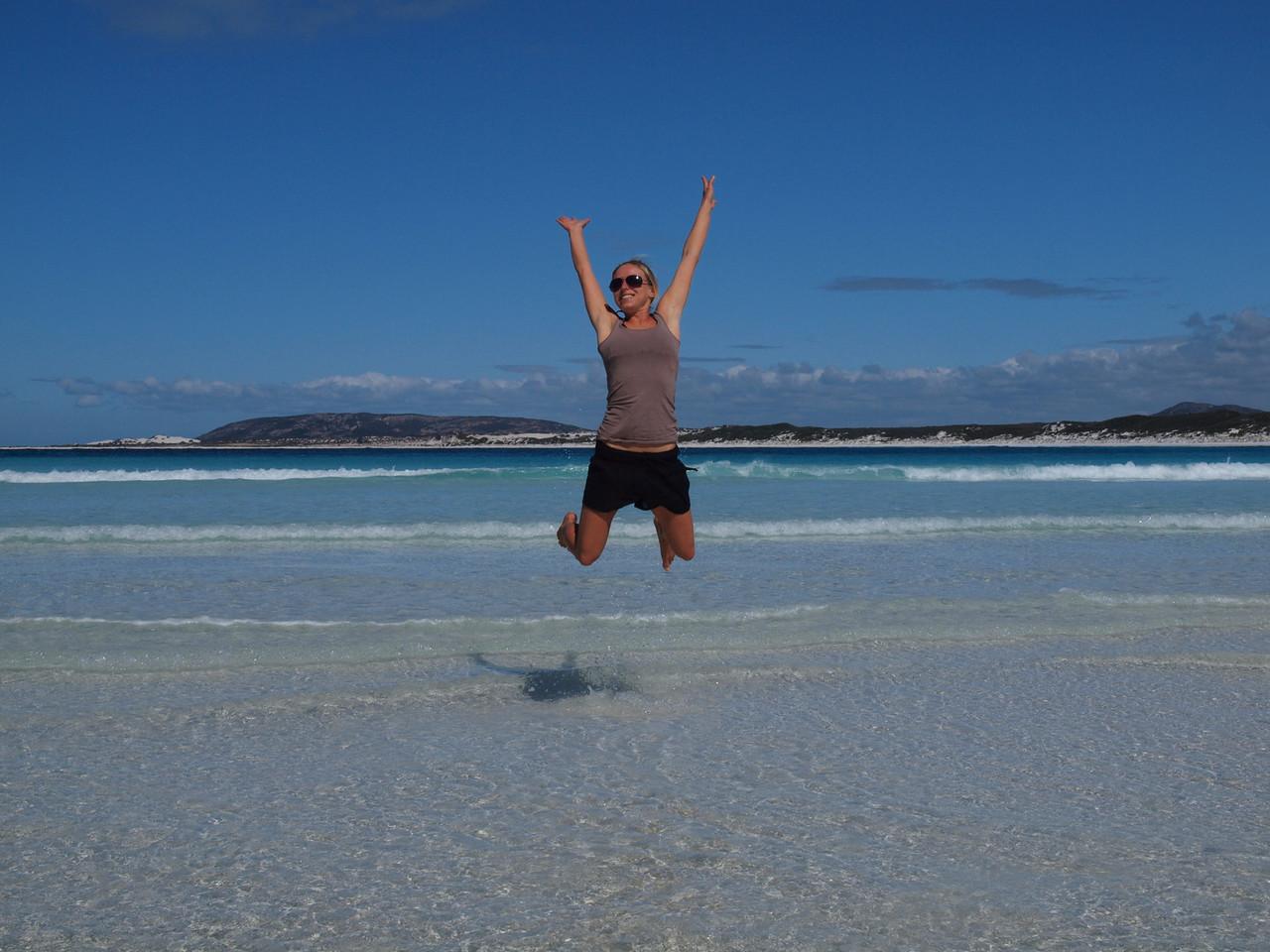 Ein Jump in Australien