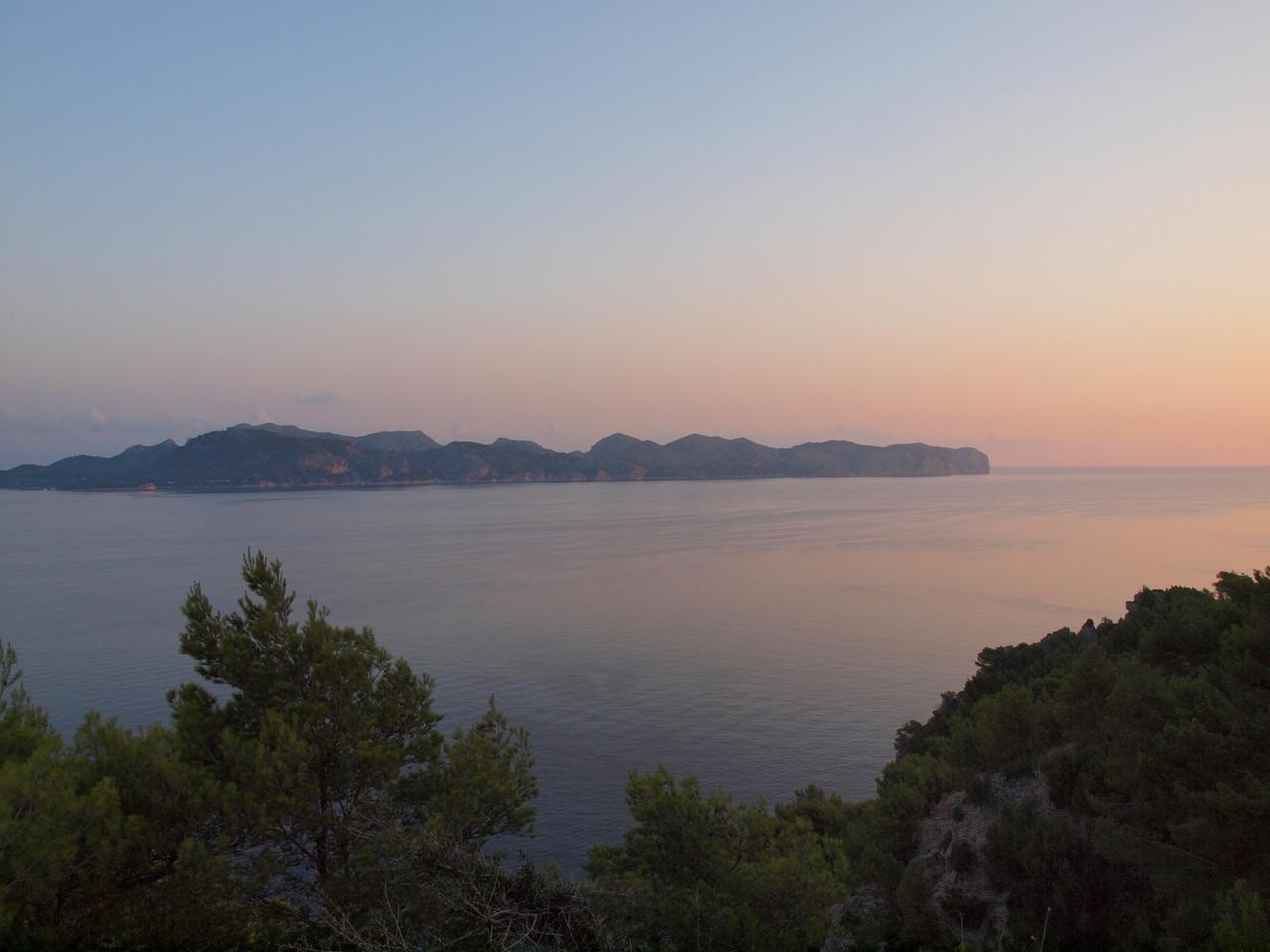 Sonnenaufgang über dem Cap Formentor