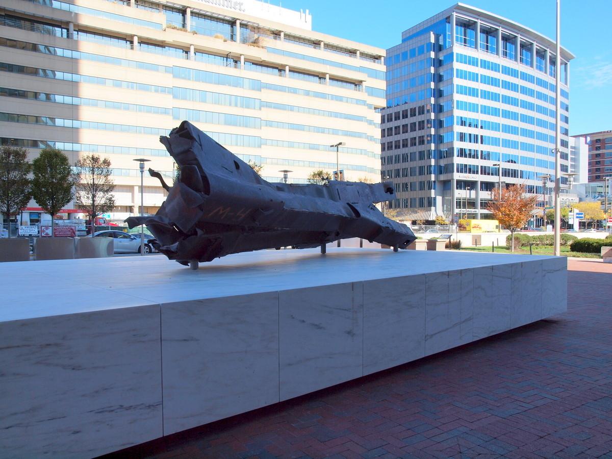 …auch hier ein Stück Erinnerung an das World Trade Center von N.Y. (9/11)