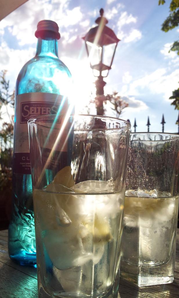 Auch in Wiesbaden gibt es was zu trinken…
