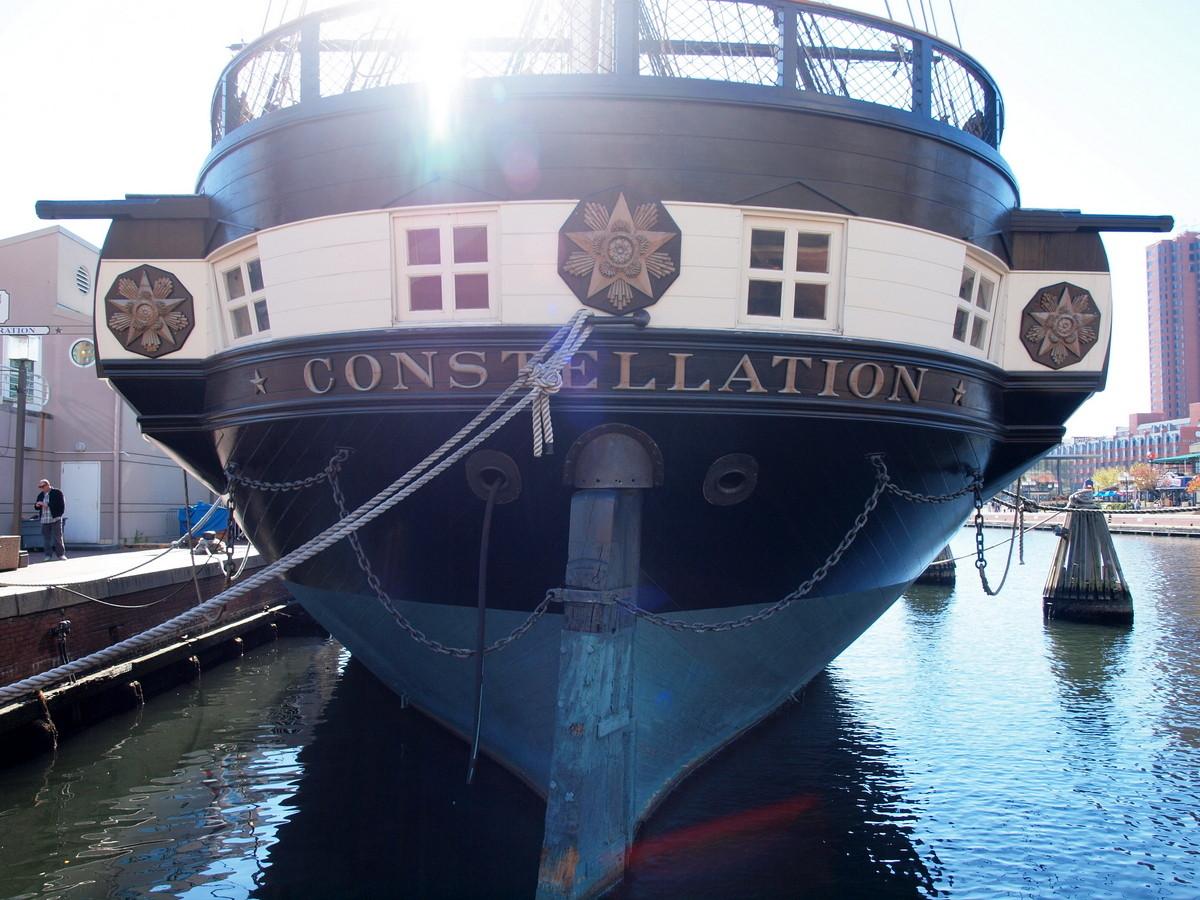 Eines der ältesten Schiffe der US-Navy