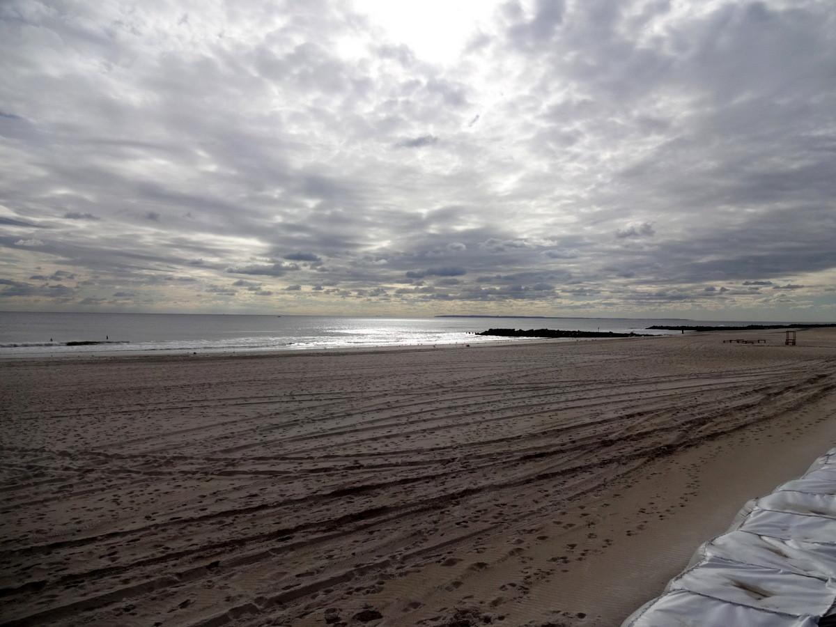 ...endlich wieder Sand unter den Füßen!