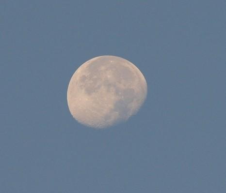 Monduntergang auf der anderen Seite
