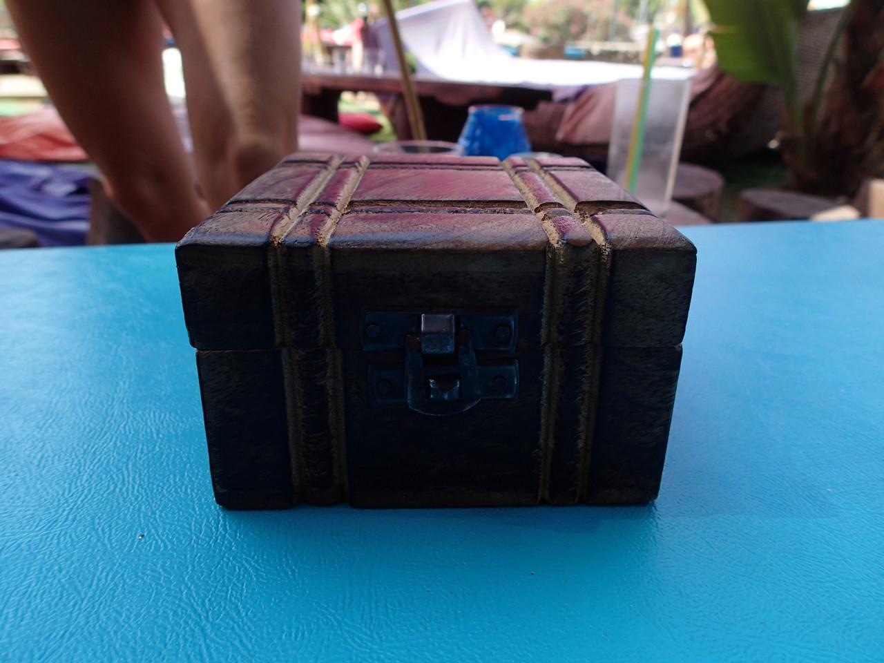 Zum Ende, die Rechnung in der Kiste!