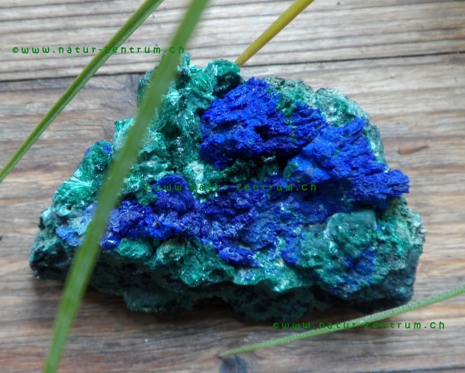 Azurit-Malachit in Rohform
